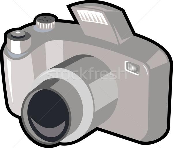 Dslr kamera Retro örnek dijital fotoğraf makinesi Stok fotoğraf © patrimonio