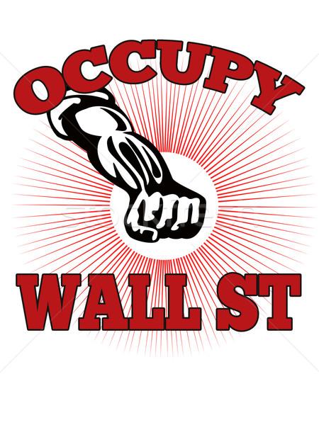 Occupy Wall Street American Worker Stock photo © patrimonio