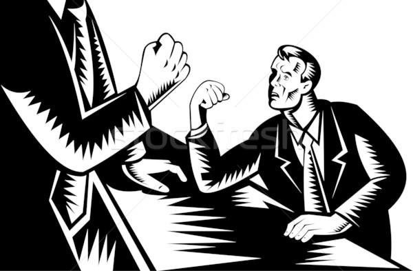 man arm wrestle giant Stock photo © patrimonio
