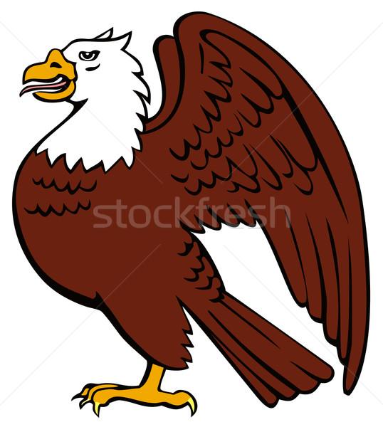 Bald Eagle Retro Stock photo © patrimonio