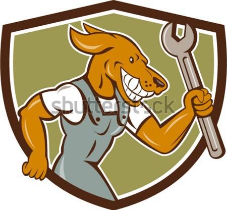 Colt 45 and Horseshoe Emblem Stock photo © patrimonio