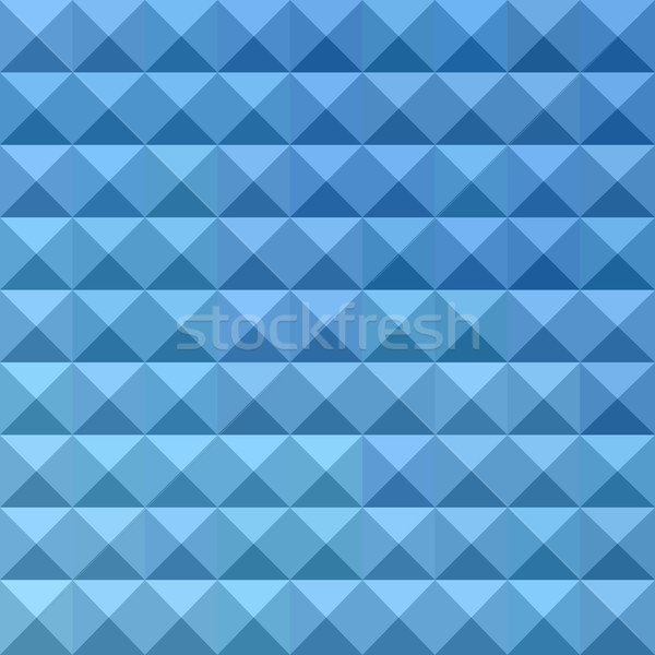 Stock photo: Cornflower Blue Abstract Low Polygon Background