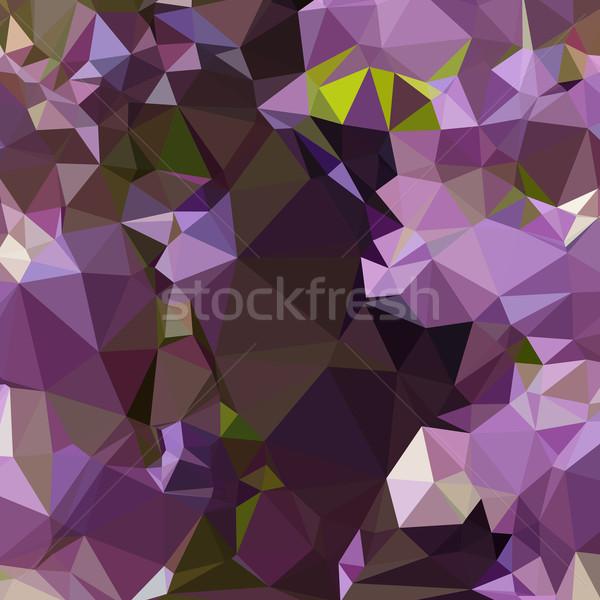 豊富な ライラック 紫色 抽象的な 低い ポリゴン ストックフォト © patrimonio
