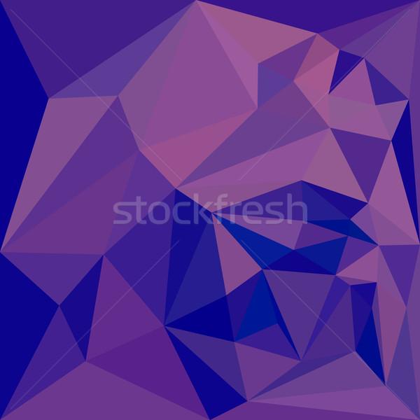 Han Purple Abstract Low Polygon Background Stock photo © patrimonio