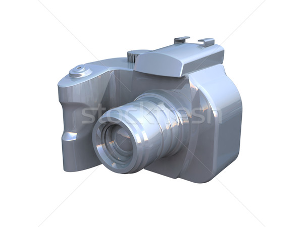 DSLR camera isolated on white  Stock photo © patrimonio