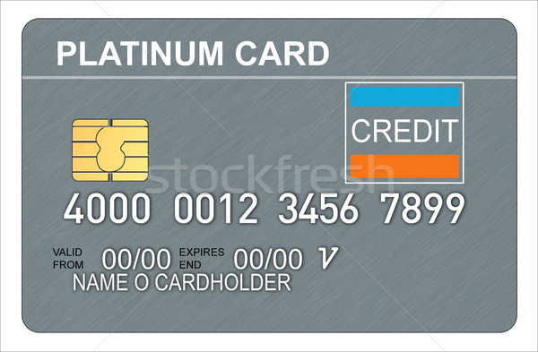 Platinum Credit Card Stock photo © patrimonio
