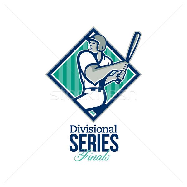 Divisional Baseball Series Finals Retro Stock photo © patrimonio
