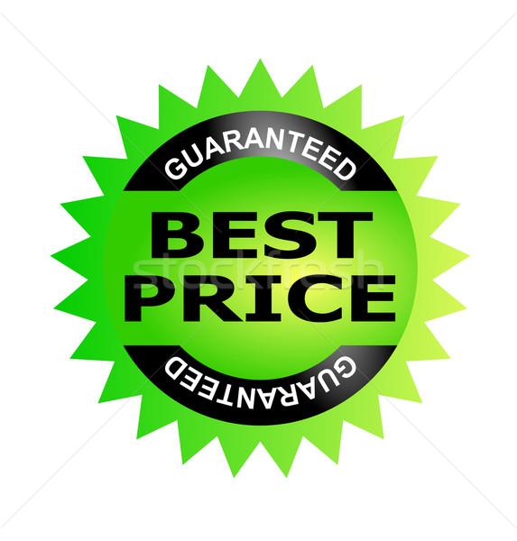 En iyi fiyat garantili örnek ikon sözler içinde Stok fotoğraf © patrimonio