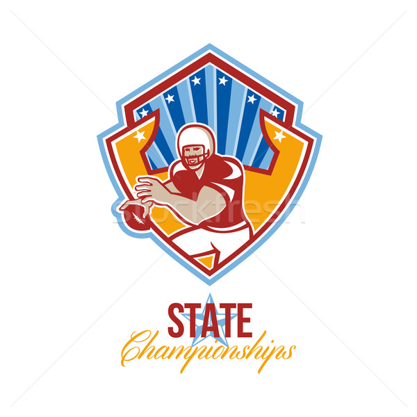American Football Quarterback State Championships Stock photo © patrimonio