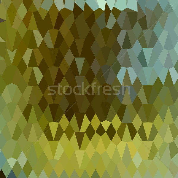Moss Green Abstract Low Polygon Background Stock photo © patrimonio