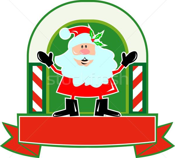 Santa Claus Father Christmas Cartoon Stock photo © patrimonio