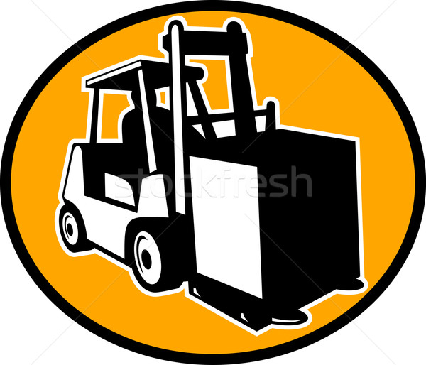 forklift truck Stock photo © patrimonio