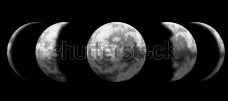 Moon Phase Stock photo © patrimonio