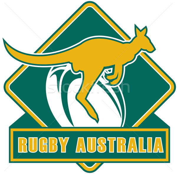 rugby australia kangaroo wallaby Stock photo © patrimonio