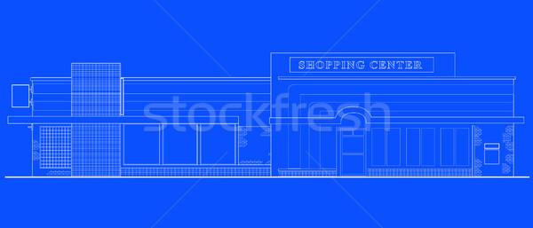 shopping center building front Stock photo © patrimonio