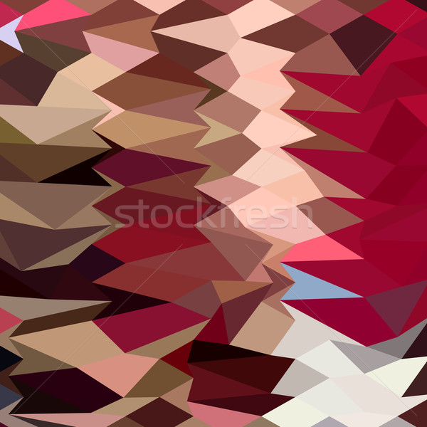 抽象的な 低い ポリゴン スタイル 実例 幾何学的な ストックフォト © patrimonio