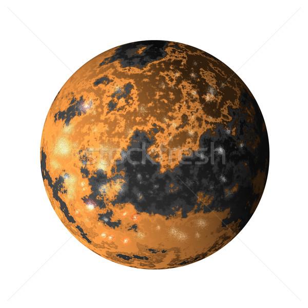 Jupiter moon ganymede Stock photo © patrimonio