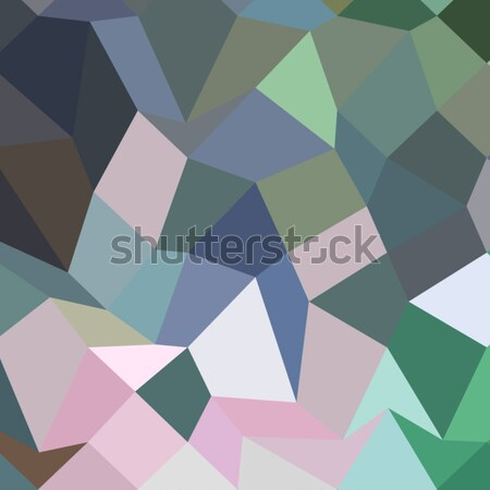 Claret Red Abstract Low Polygon Background Stock photo © patrimonio