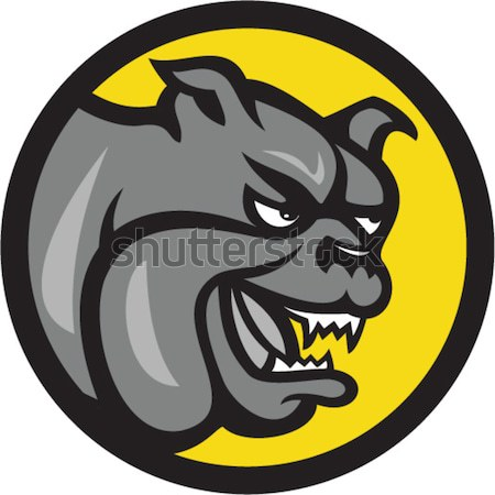 Bulldogs and Terriers Mascot Dog Collection Stock photo © patrimonio