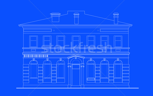heritage mansion building Stock photo © patrimonio