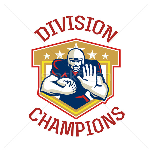 American Football Division Champions Shield Stock photo © patrimonio