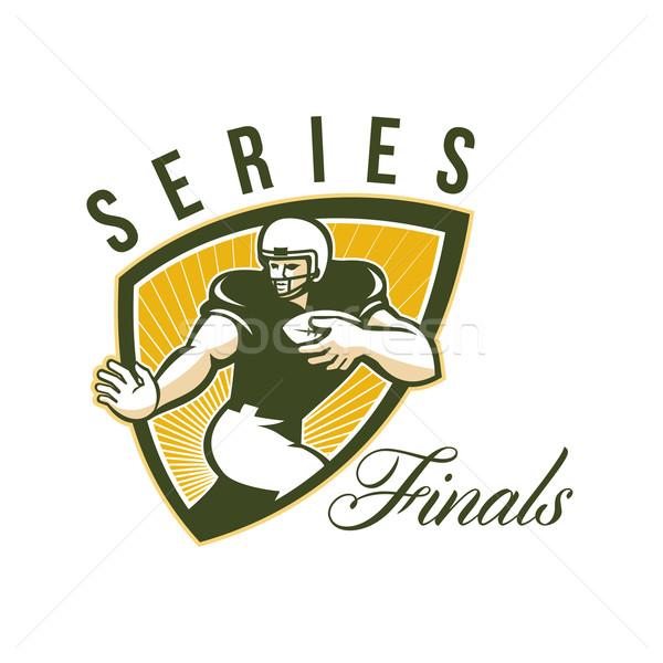 American Football Series Finals Shield Stock photo © patrimonio