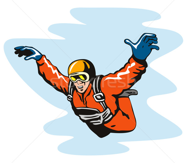 Skydiving Solo Stock photo © patrimonio