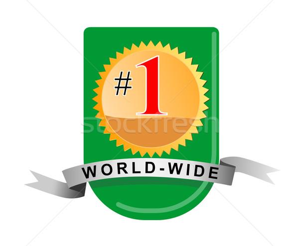 Number 1 WorldWide Stock photo © patrimonio