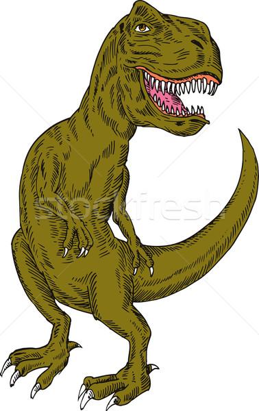 T-Rex Dinosaur Stock photo © patrimonio
