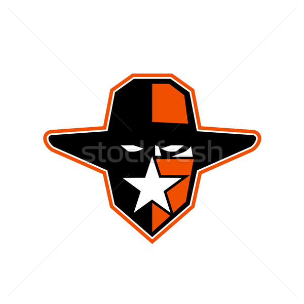 Cowboy Outlaw Star Icon Stock photo © patrimonio