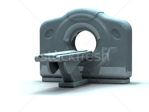 Chat scanner rendu 3d calcul xray Photo stock © patrimonio