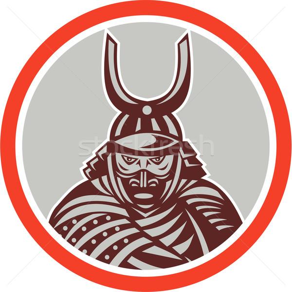 Samurai Warrior Katana Sword Attacking  Stock photo © patrimonio