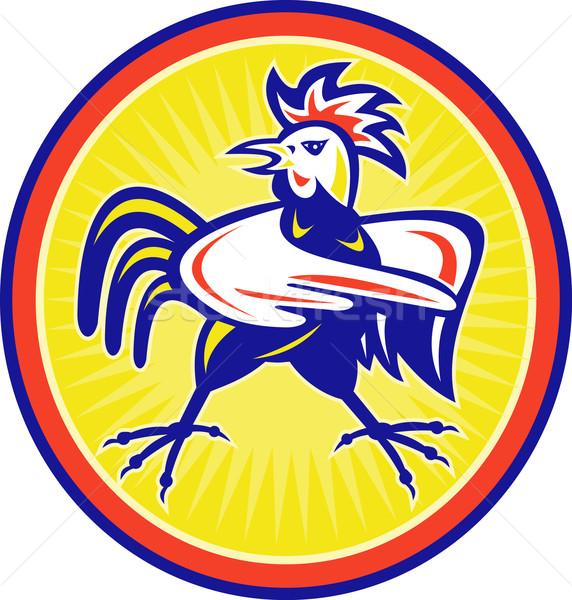 angry cockerel rooster  Stock photo © patrimonio