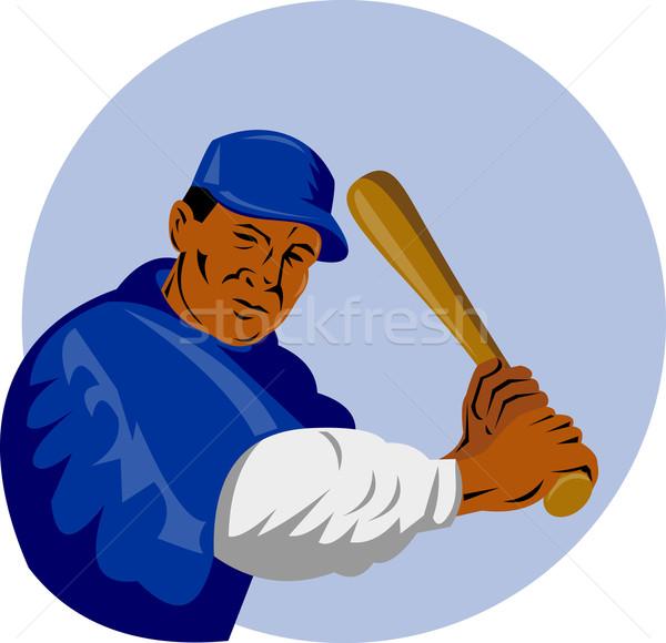 baseball player batting Stock photo © patrimonio