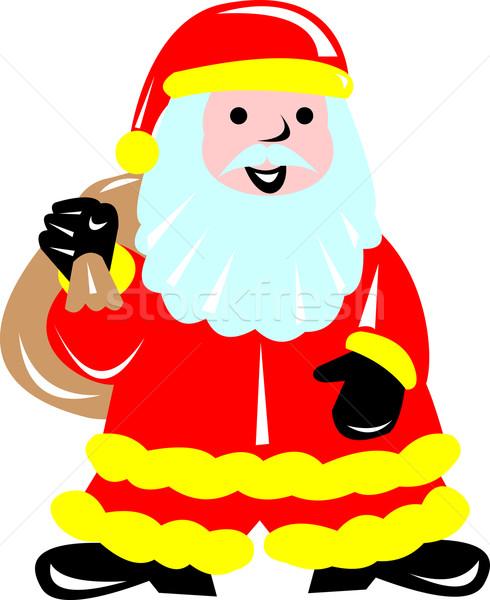 Father Christmas Santa Claus Stock photo © patrimonio