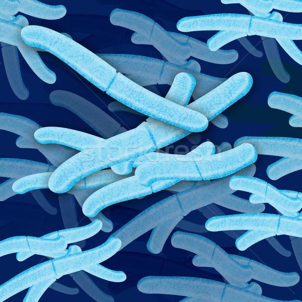 bacteria cell grouping Stock photo © patrimonio