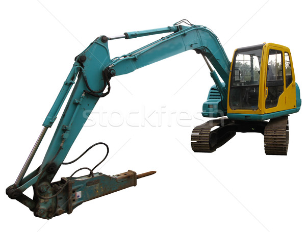 mechanical digger excavator Stock photo © patrimonio