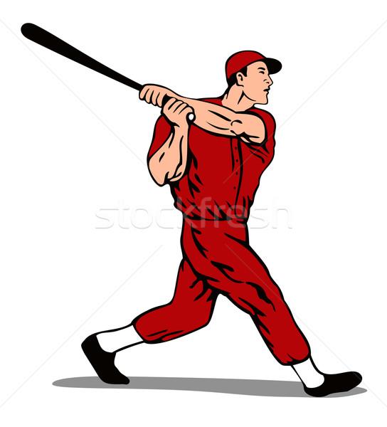 Baseball Player Batter Stock photo © patrimonio