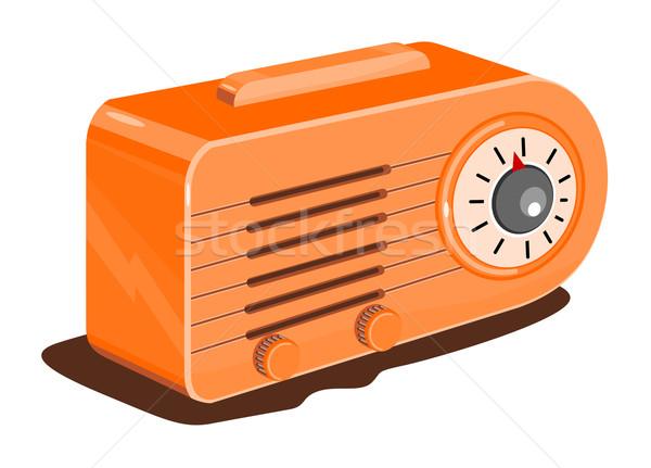 Radio Retro Stock photo © patrimonio