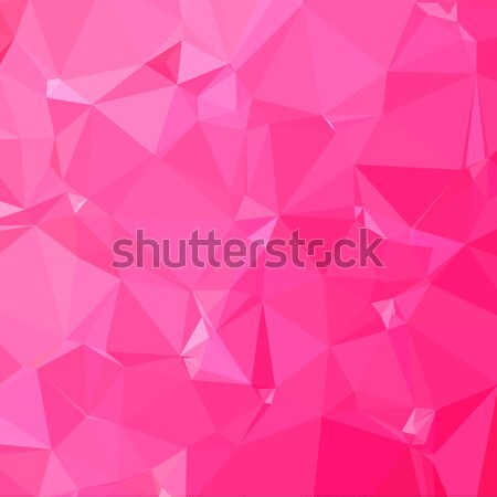 Gül pembe soyut düşük çokgen stil Stok fotoğraf © patrimonio