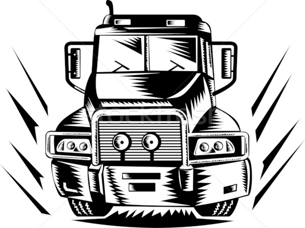 truck lorry retro Stock photo © patrimonio