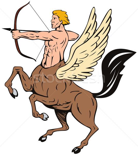 Centaur Bow Arrow Shooting Stock photo © patrimonio