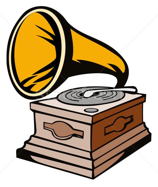 Phonograph Stock photo © patrimonio