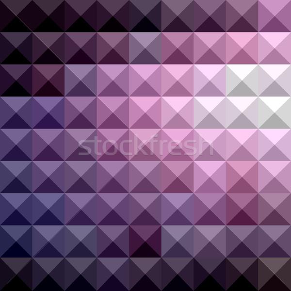 Ruso violeta resumen bajo polígono estilo Foto stock © patrimonio