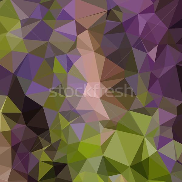 Purple аннотация низкий многоугольник стиль иллюстрация Сток-фото © patrimonio