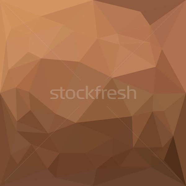 Resumen bajo polígono estilo ilustración geométrico Foto stock © patrimonio