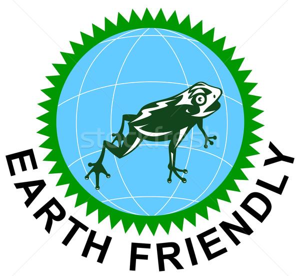 Earth Friendly Sign Stock photo © patrimonio