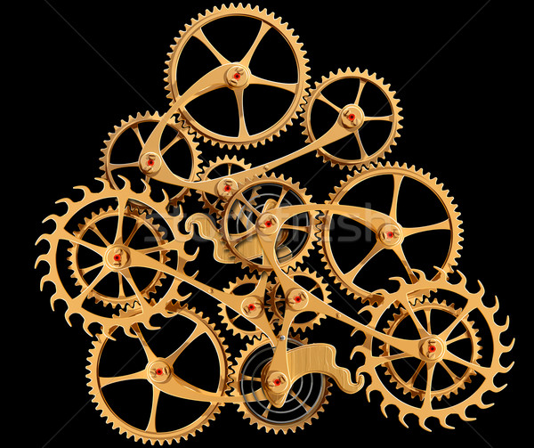 Clockwork Stock photo © paulfleet