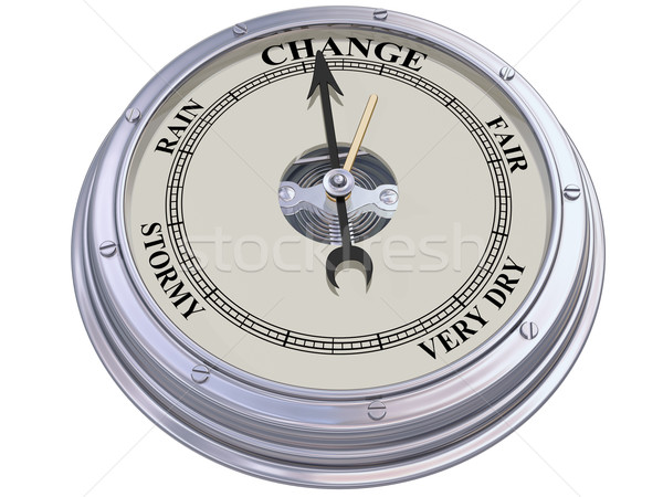 Barometer indicating change Stock photo © paulfleet