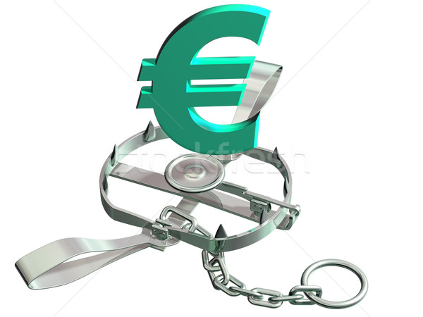 Euro trap Stock photo © paulfleet